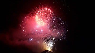 La alerta por altas temperaturas obliga a aplazar los fuegos artificiales de las fiestas de Tejina