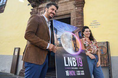 La Noche en Blanco retrata en su cartel la participación y el patrimonio histórico de La Laguna