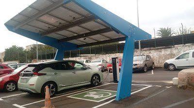 Muvisa habilita dos plazas para recarga de vehículos eléctricos en su parking de Rodríguez Moure