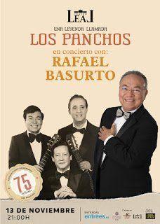 Rafael Basurto actúa en el Teatro Leal con el espectáculo 'Una leyenda llamada Los Panchos'