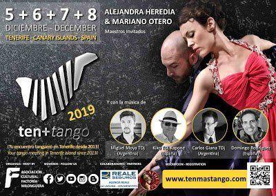 Más de 150 personas procedentes de 16 países convertirán a Tenerife en la capital del tango