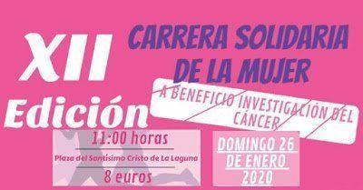 La Laguna acogerá nuevamente la Carrera Solidaria de la Mujer