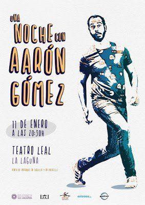El humor de Aarón Gómez vuelve a llenar este sábado el Teatro Leal