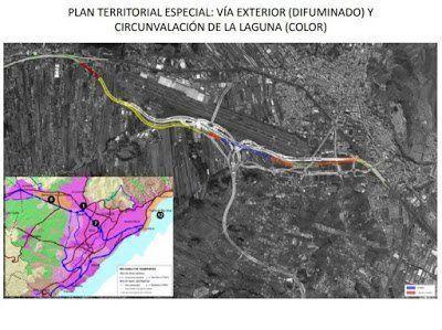 La circunvalación de La Laguna desahogará el tráfico de la TF-5 con el menor impacto ambiental