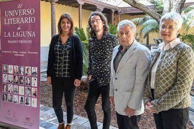 Cultura presenta 'El universo literario de La Laguna' dedicado a los escritores del municipio