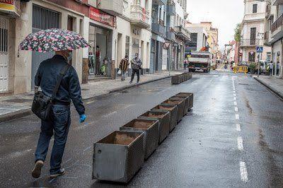 La Laguna estrena urbanismo táctico con la peatonalización de la calle Heraclio Sánchez