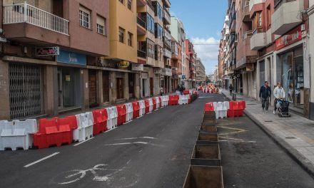 El Ayuntamiento de La Laguna inicia la semana próxima el embellecimiento de la calle Heraclio Sánchez